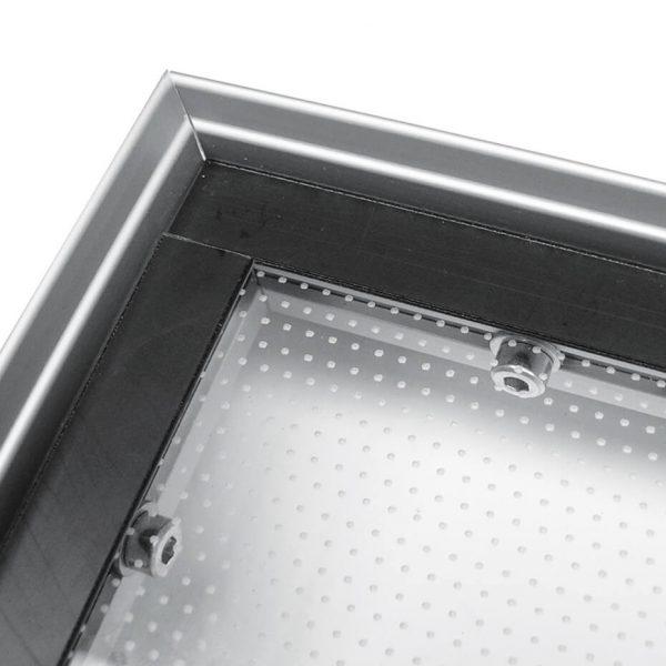 Alu LED Ramme Hjørnet