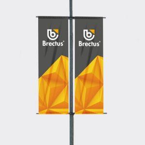 Bannerholder Stolpe fra Brectus