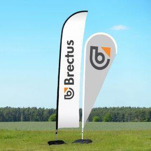 Brectus Beachflagg Alu