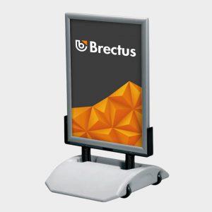 Gatebukk Wind-Sign Alu Smart fra Brectus