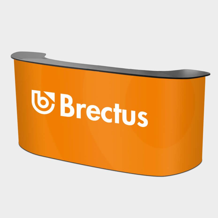Messedisk buet XL fra Brectus