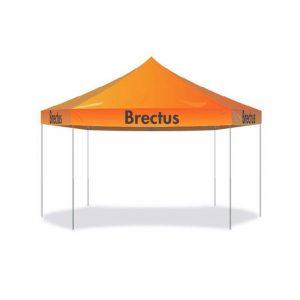 sekskantet messetelt fra Brectus