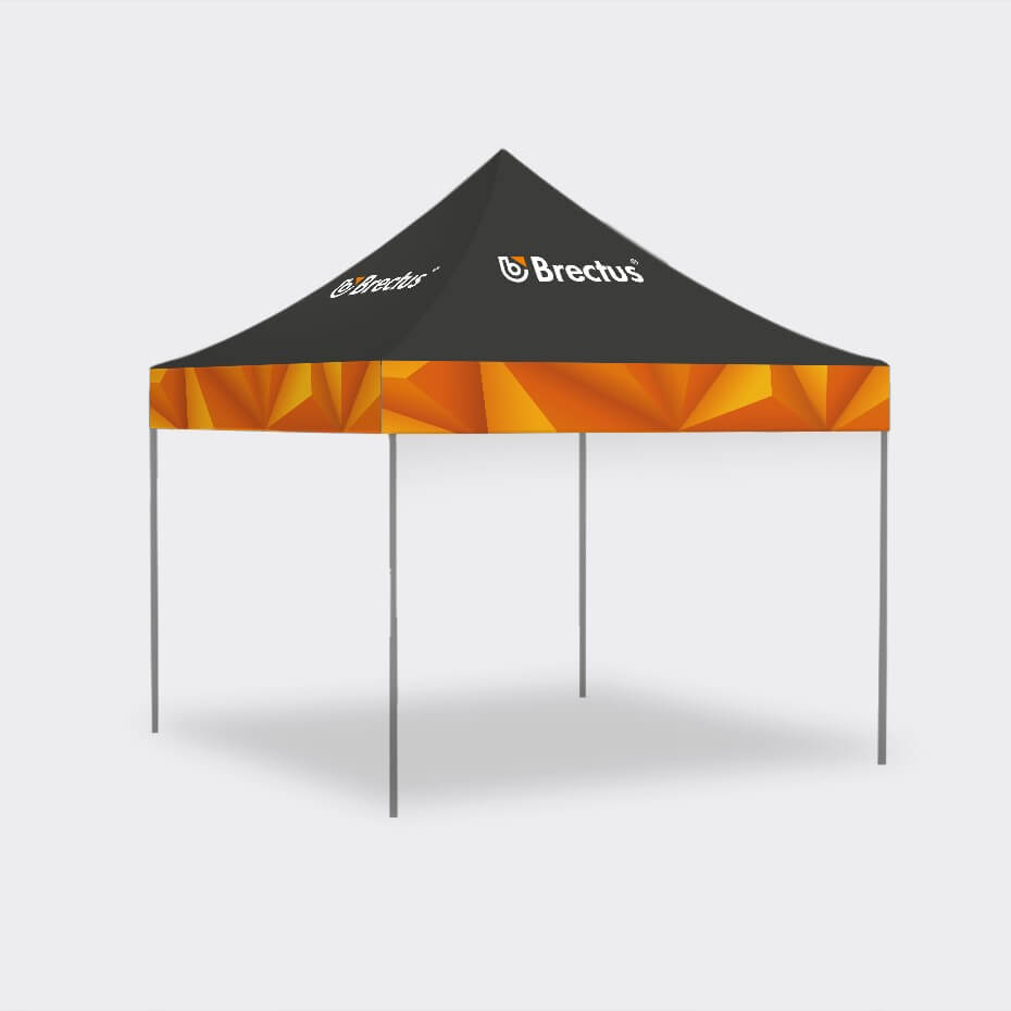 Messetelt 3x3 pop-up telt fra Brectus.