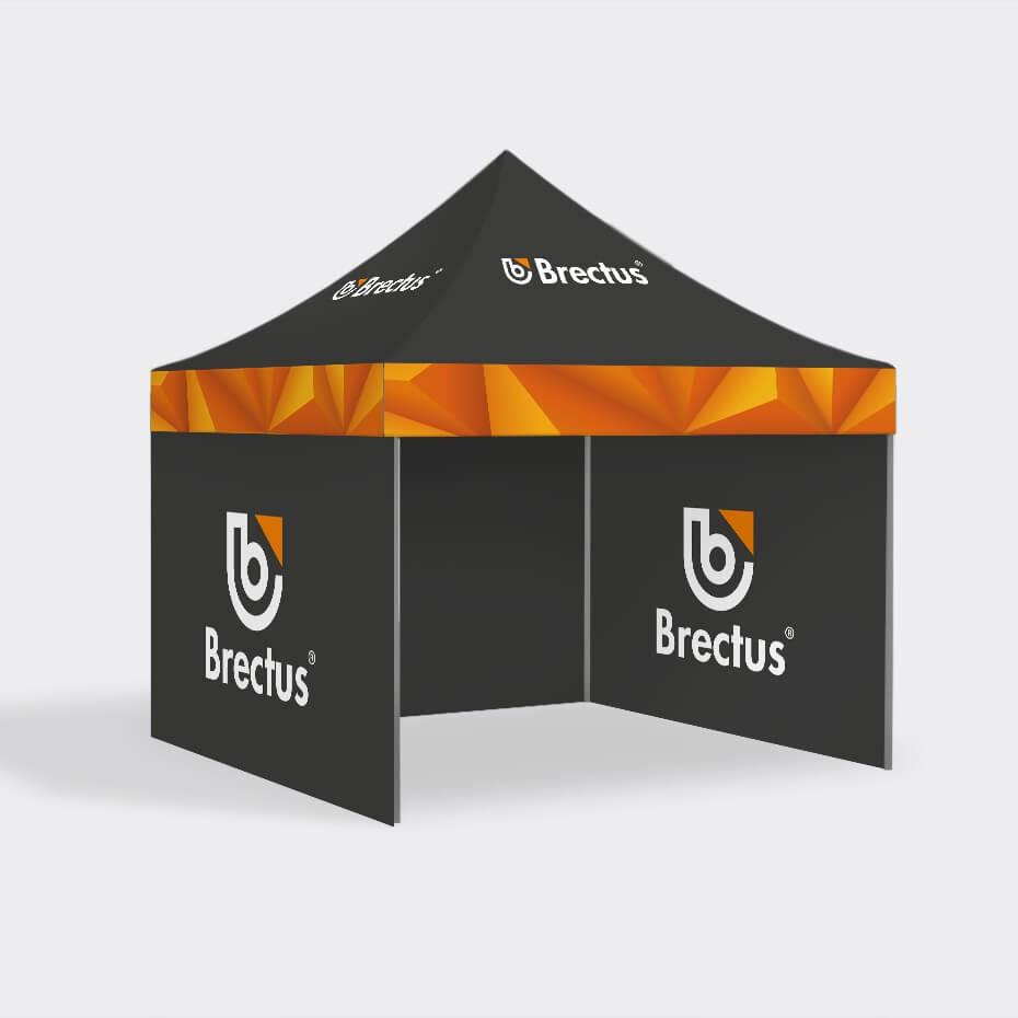Messetelt 5x5 pop-up telt fra Brectus.