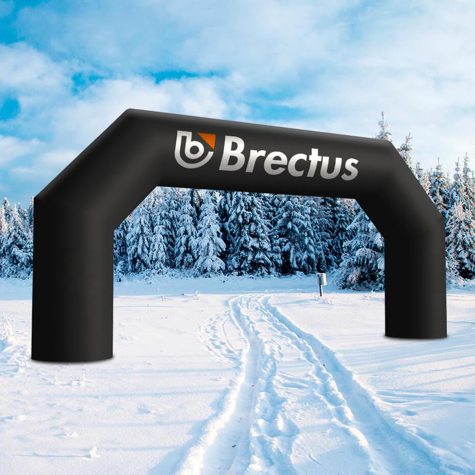 Brectus Oppblåsbar Målbue