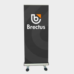 Brectus Rollup tosidig utendørs