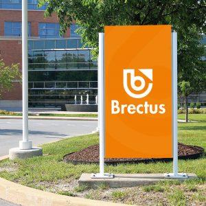 Brectus Skilt Utendørs