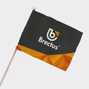 Supporter- eller Balkong flagg fra Brectus
