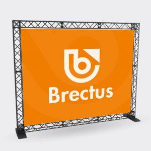 Brectus Trossekonstruksjon med banner