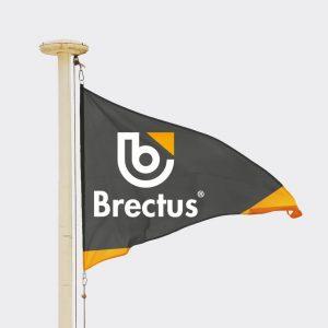 Vimpel med trykk fra Brectus