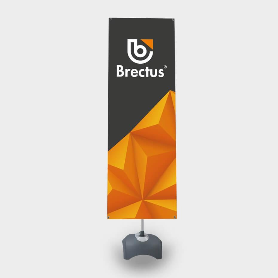 Brectus X-Banner Tosidig 2