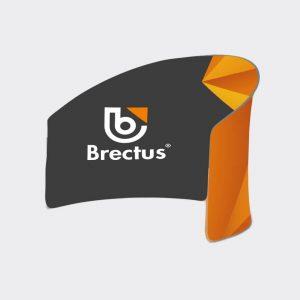 Brectus Messevegg Zipperwall Halvsirkel og Buet Romdeler