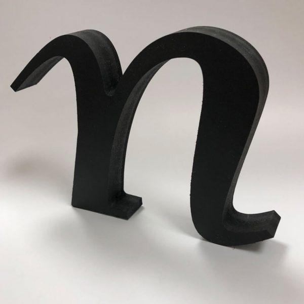 Akryl bokstav N