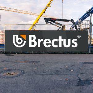Brectus Byggeplasskilt