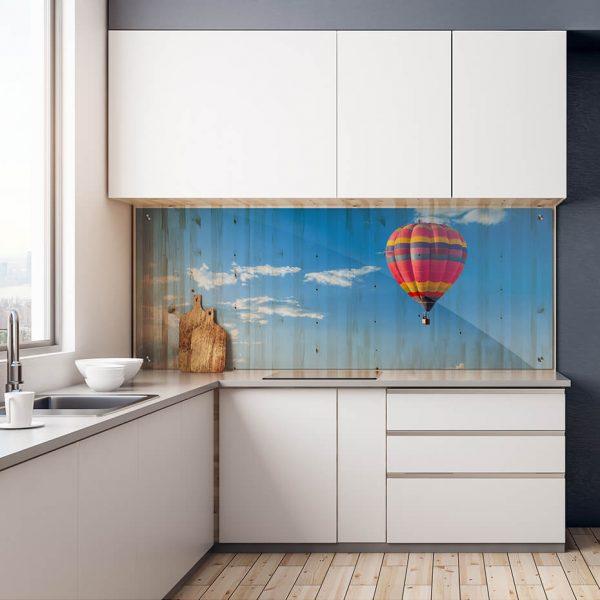 Print på akryl - Motiv luftballong