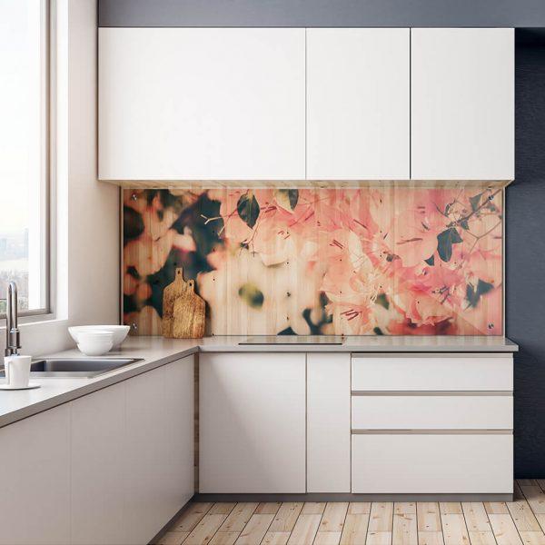 Print på akryl - Motiv blomst
