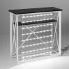 Messebord Klassisk med LED-lys innsiden
