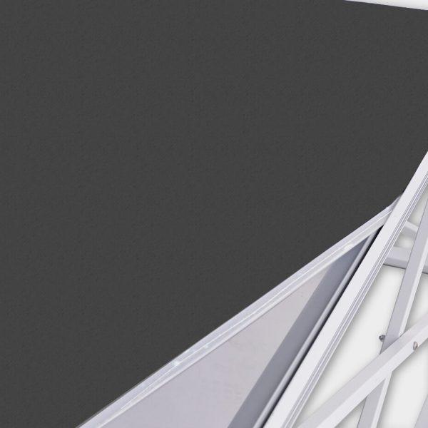 Messevegg Pop-up buet LED enkel å sette sammen