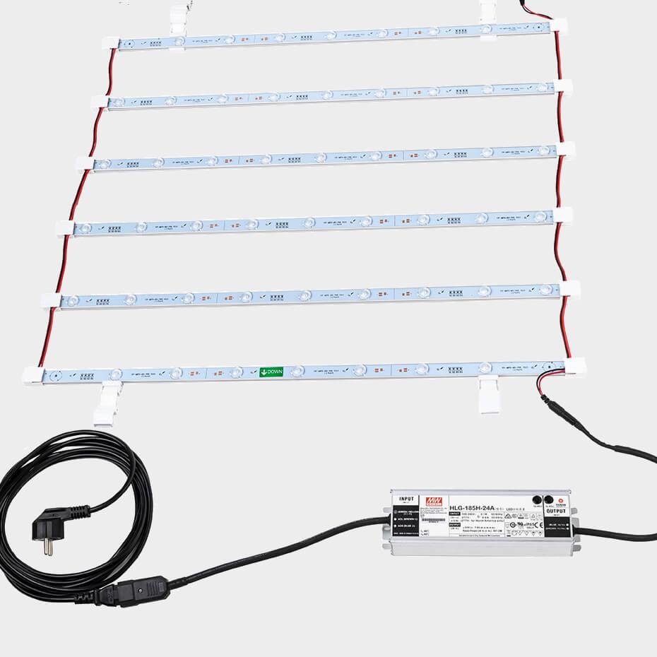 LED messevegg Pop-up Del 3