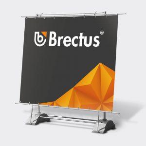 Frittstående Banner fra Brectus