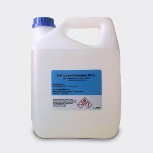 Brectus Desinfeksjonsmiddel 80% 4 Liter