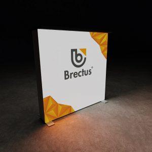 brectus led lyskasse messebord modulsystem